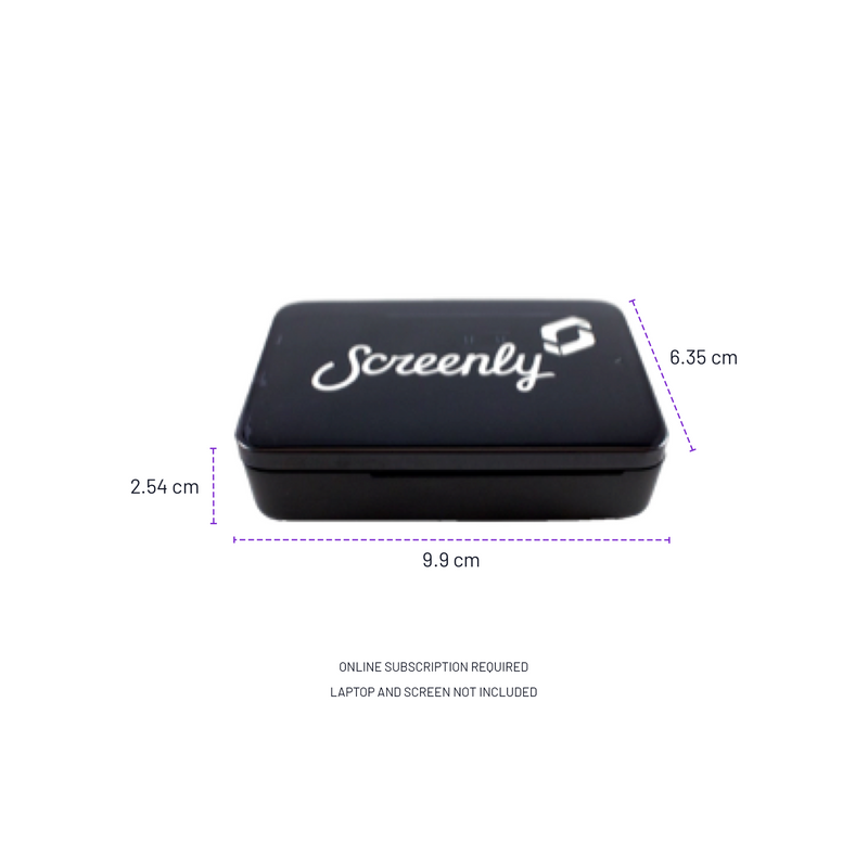 Screenly Digital Signage Player - RPi3 - Plug and Play Digital Signage