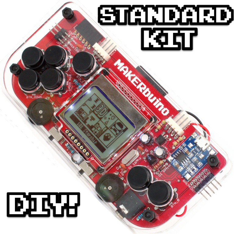 MAKERbuino standard kit