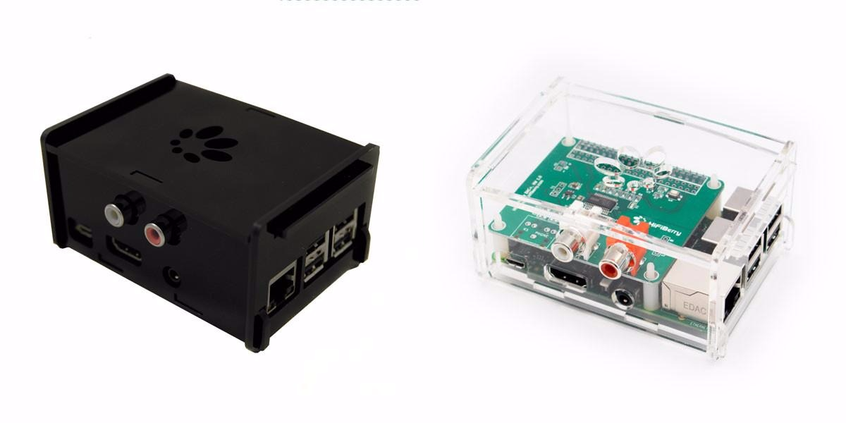 HiFiBerry Acrylic Case for DAC+ and Digi+ - Multiple Styles