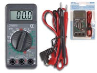 "Velleman DVM810 Digit Mini Digital Multimeter, 19 Ranges, 10 Amp Max, 3-1/2"", 1.5"""