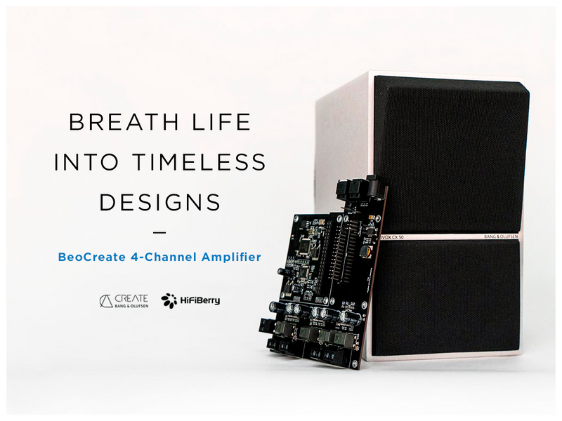 HiFiBerry BeoCreate 4-Channel Amplifier