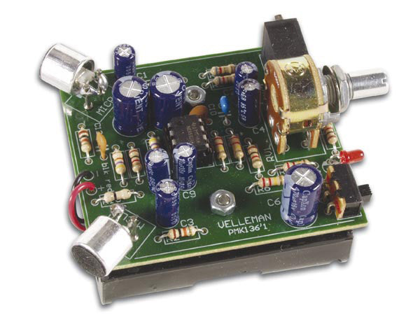 Velleman Super Ear Amplifier Kit - MK-136