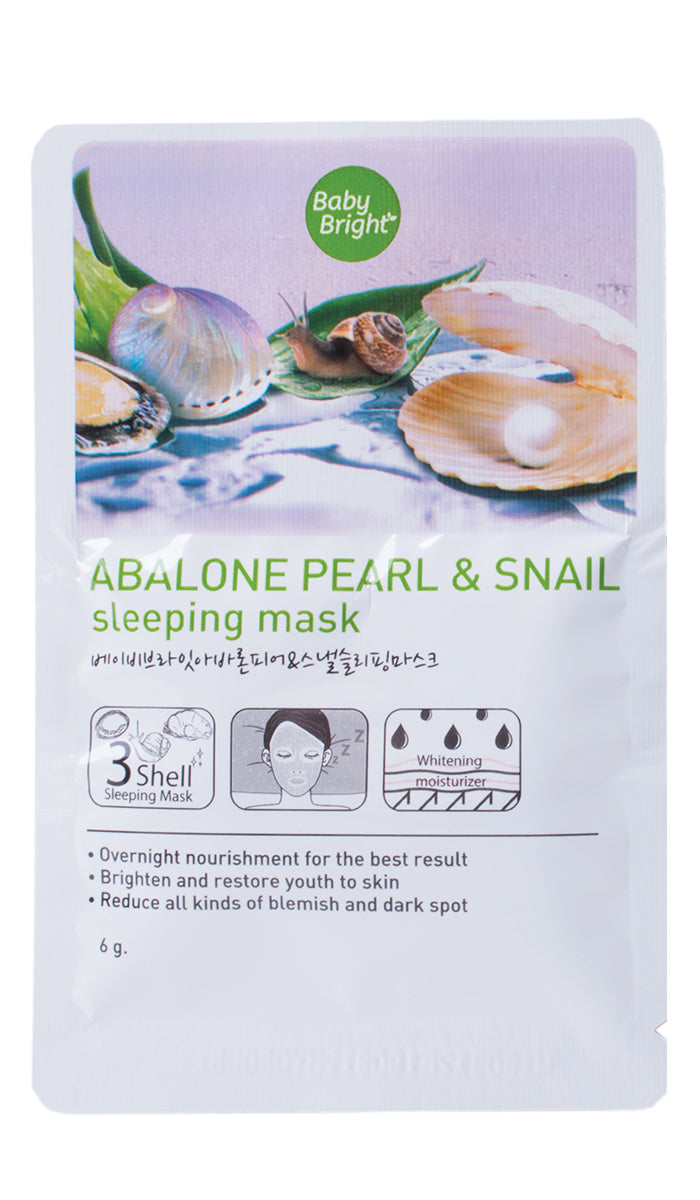 Abalone Pearl and Snail Sleeping Mask 6g