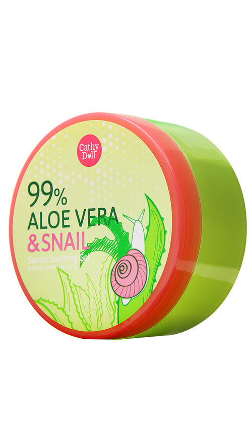Aloe Vera & Snail Serum Soothing Gel 300g
