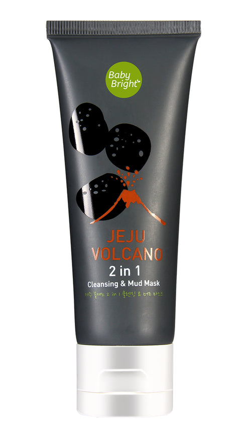 Jeju Volcano 2-in-1 Cleansing & Mud Mask 50g