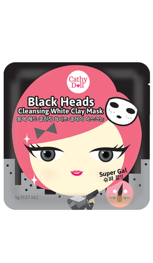 Black Heads Cleansing White Clay Mask 25g