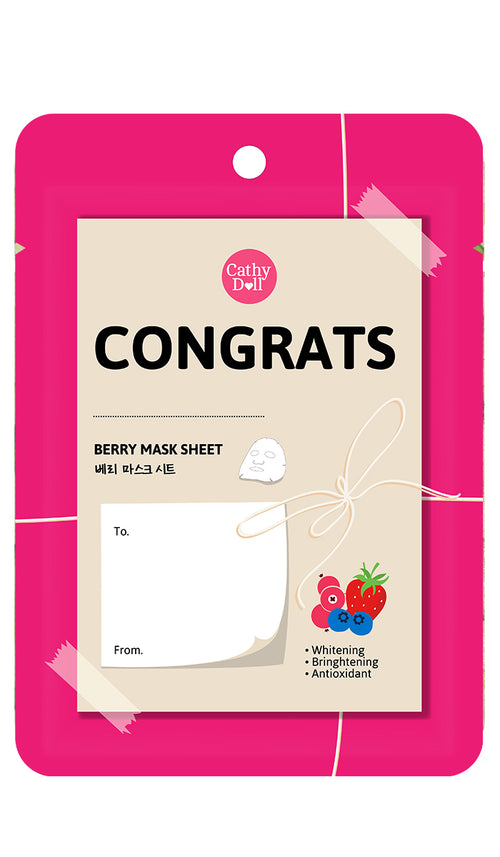 Congratulation Sheet Mask