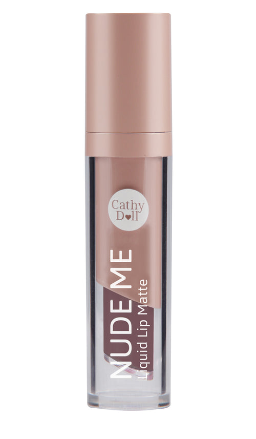 Nude Me Liquid Lip Matte 4g #01 True Brown