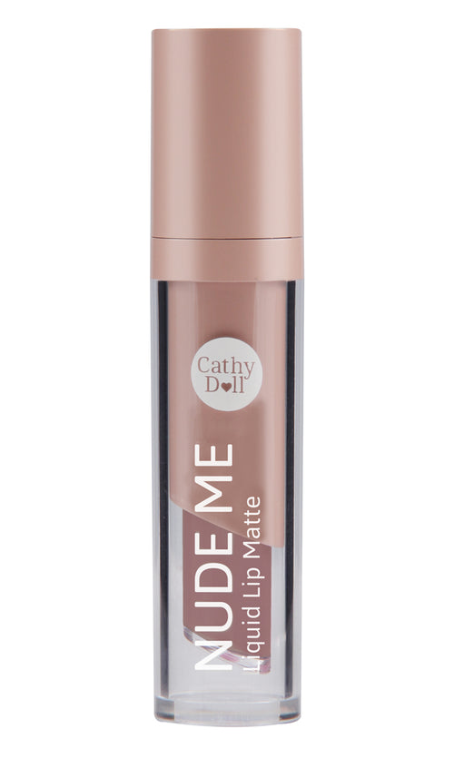 Nude Me Liquid Lip Matte 4g #02 Nude Brown