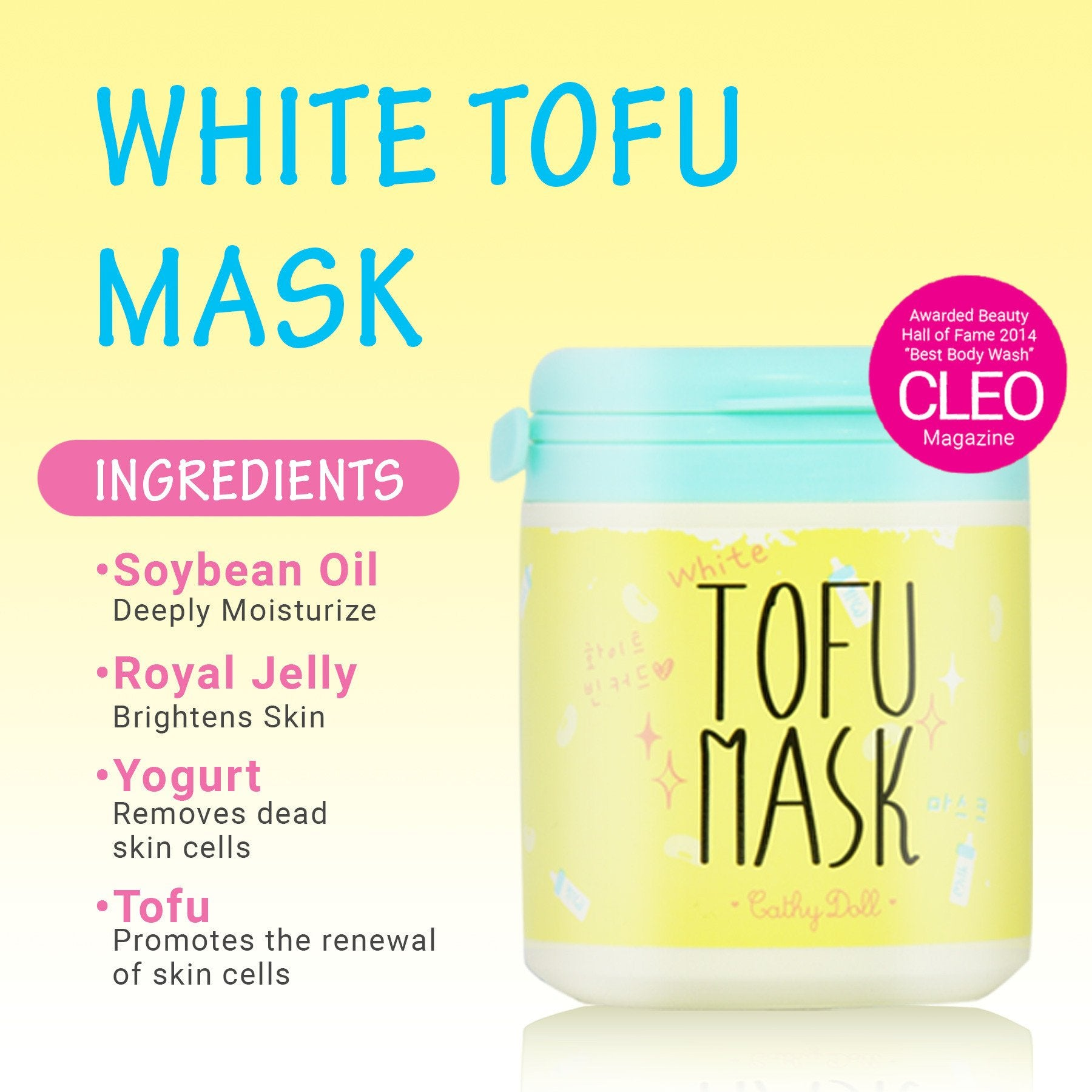 White Tofu Mask 170ml