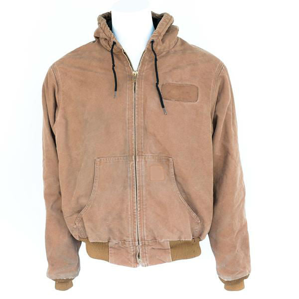 Used Brand Name Canvas Hooded Coat