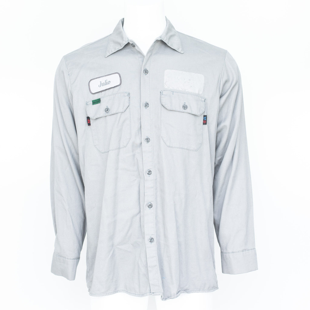 293626dc989 Used B-Grade Flame Resistant Work Shirt Long Sleeve - Mixed Colors  Light  Blue  Gray ...