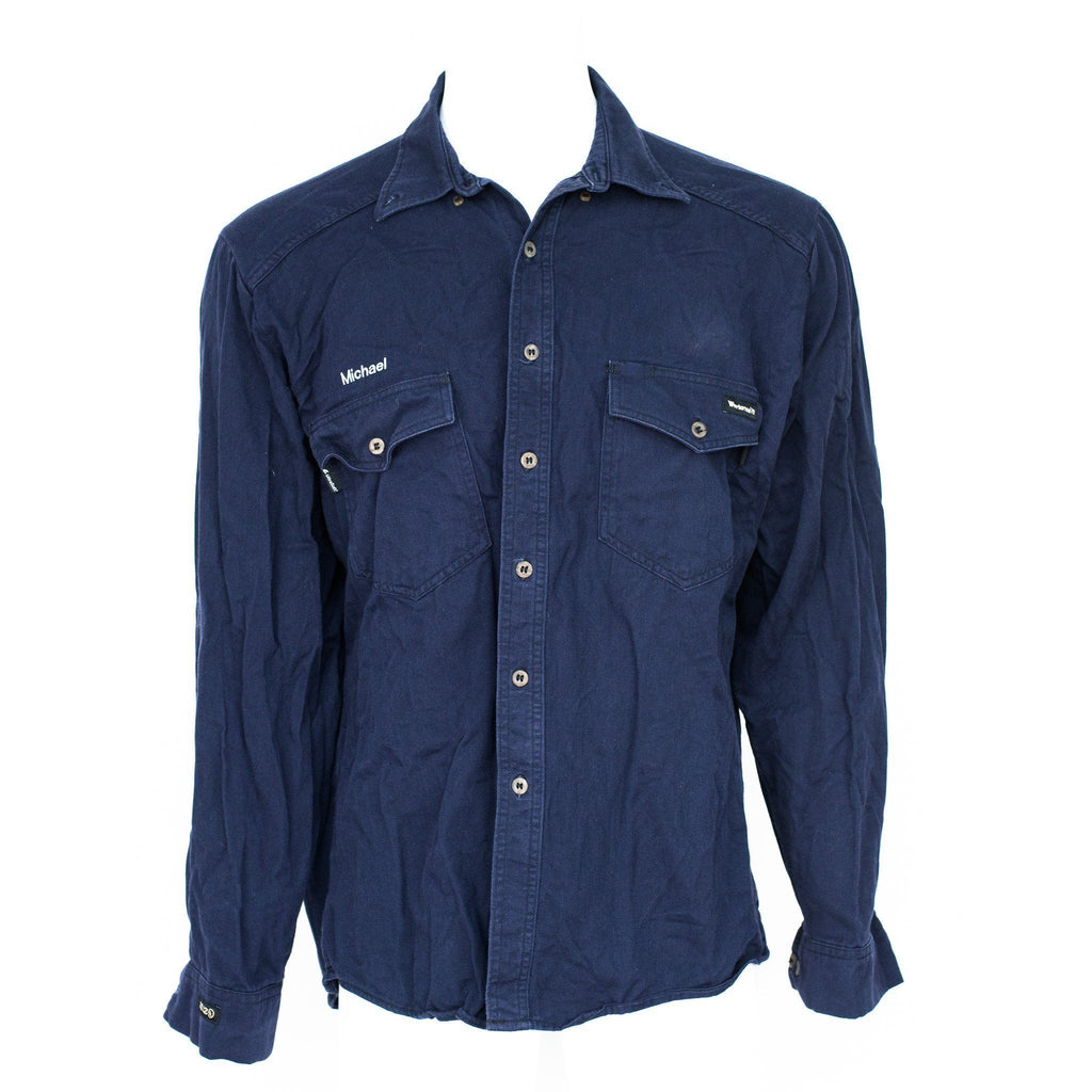 f042506b51c ... Used Flame Resistant Work Shirt - Long Sleeve