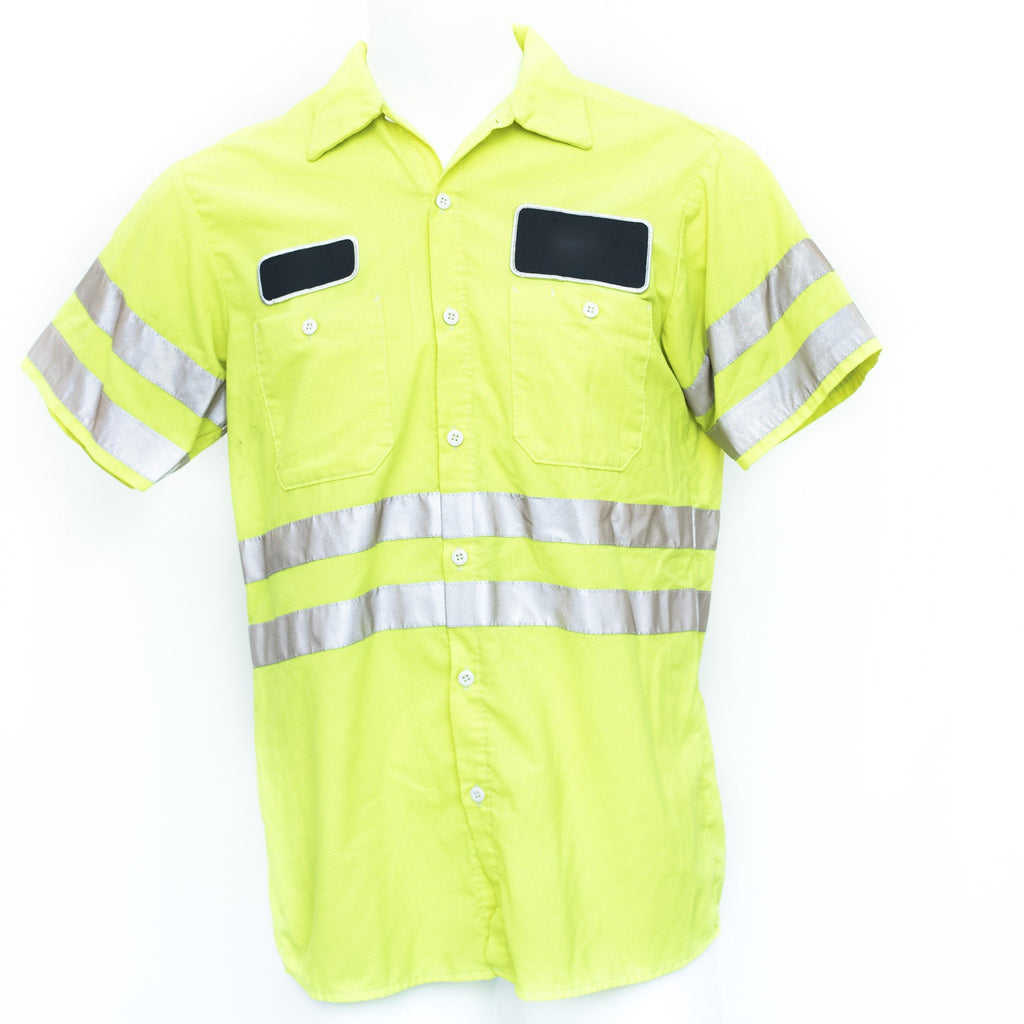 Used B-Grade Hi-Visibility Work Shirt Short Sleeve - Mixed Colors