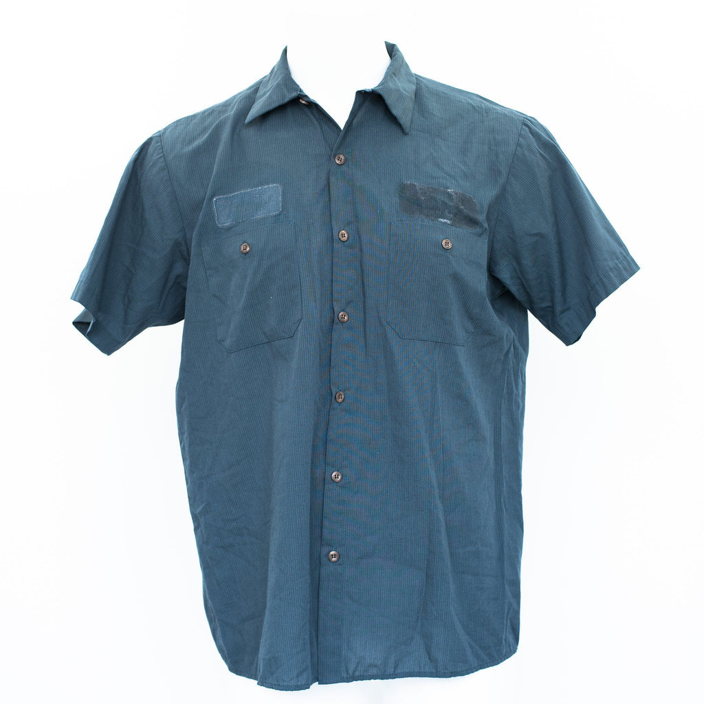 Used B-Grade Standard MicroCheck Work Shirt Short Sleeve - Mixed Colors