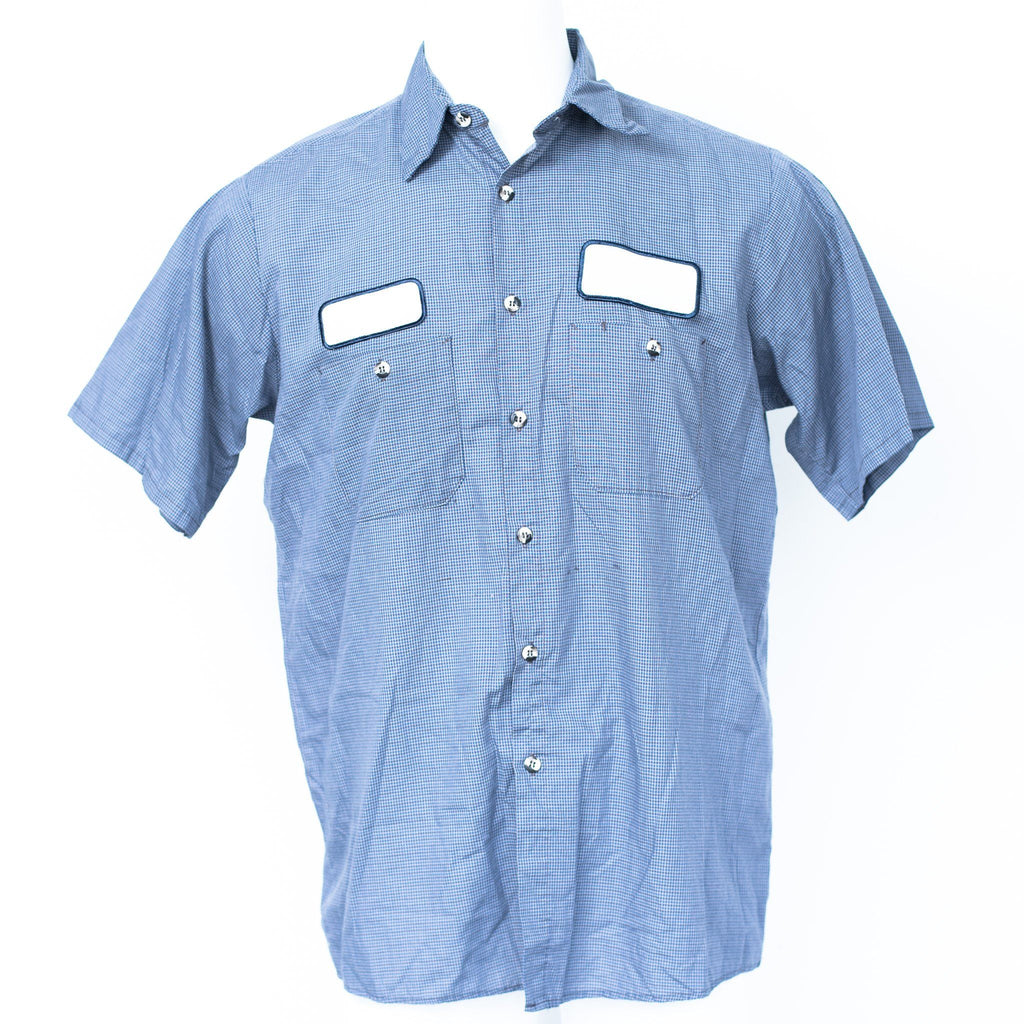 Used Standard MicroCheck Work Shirt - Short Sleeve