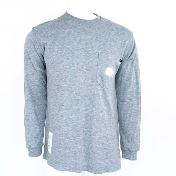 Used Brand Name Flame Resistant Long Sleeve T-Shirt