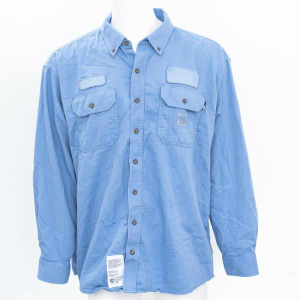 963dd38cf05 Used Brand Name Flame Resistant Work Shirt - Long Sleeve ...