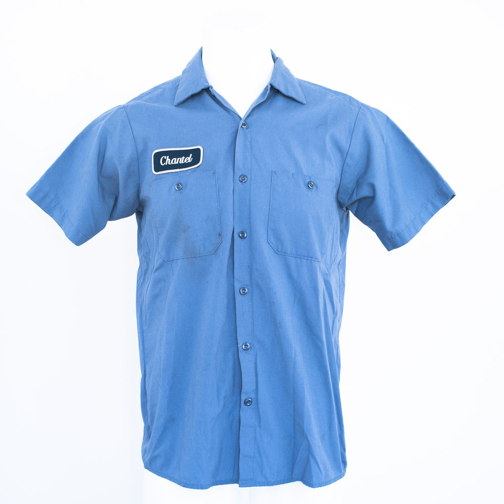 Used B-Grade Standard Solid Color Work Shirt Short Sleeve - Mixed Colors