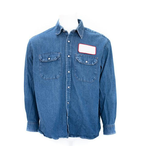 Used Standard MicroCheck Work Shirt - Long Sleeve