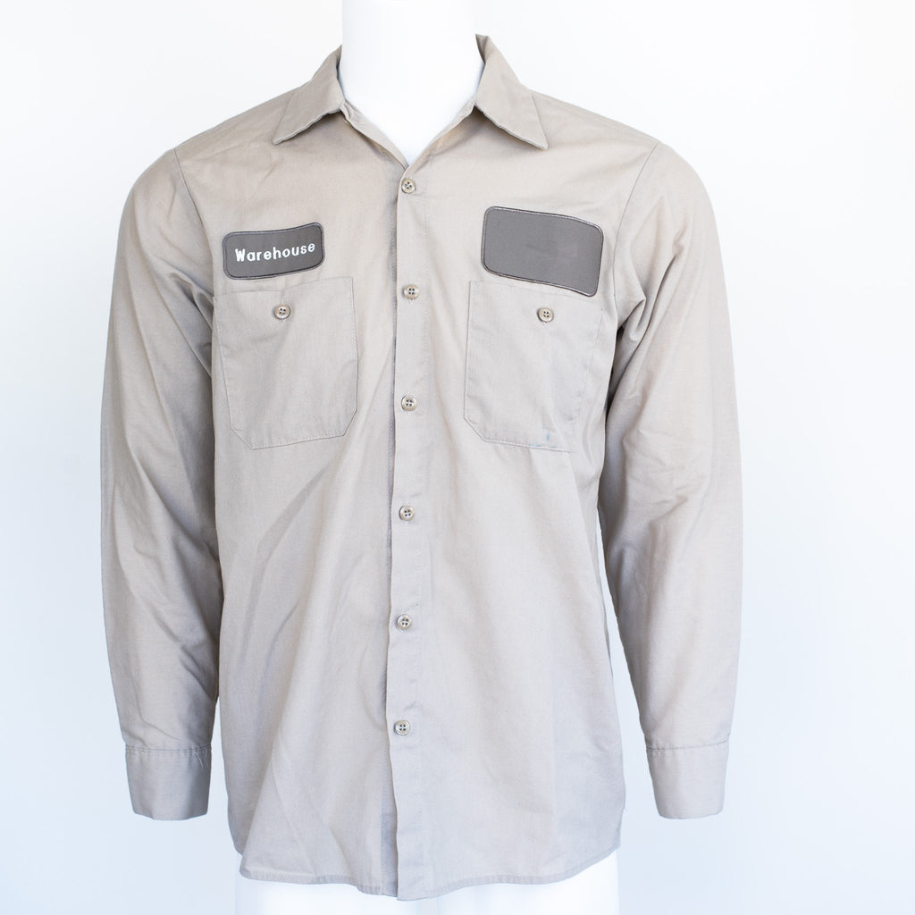 Used B-Grade Standard Solid Color Work Shirt Long Sleeve - Mixed Colors