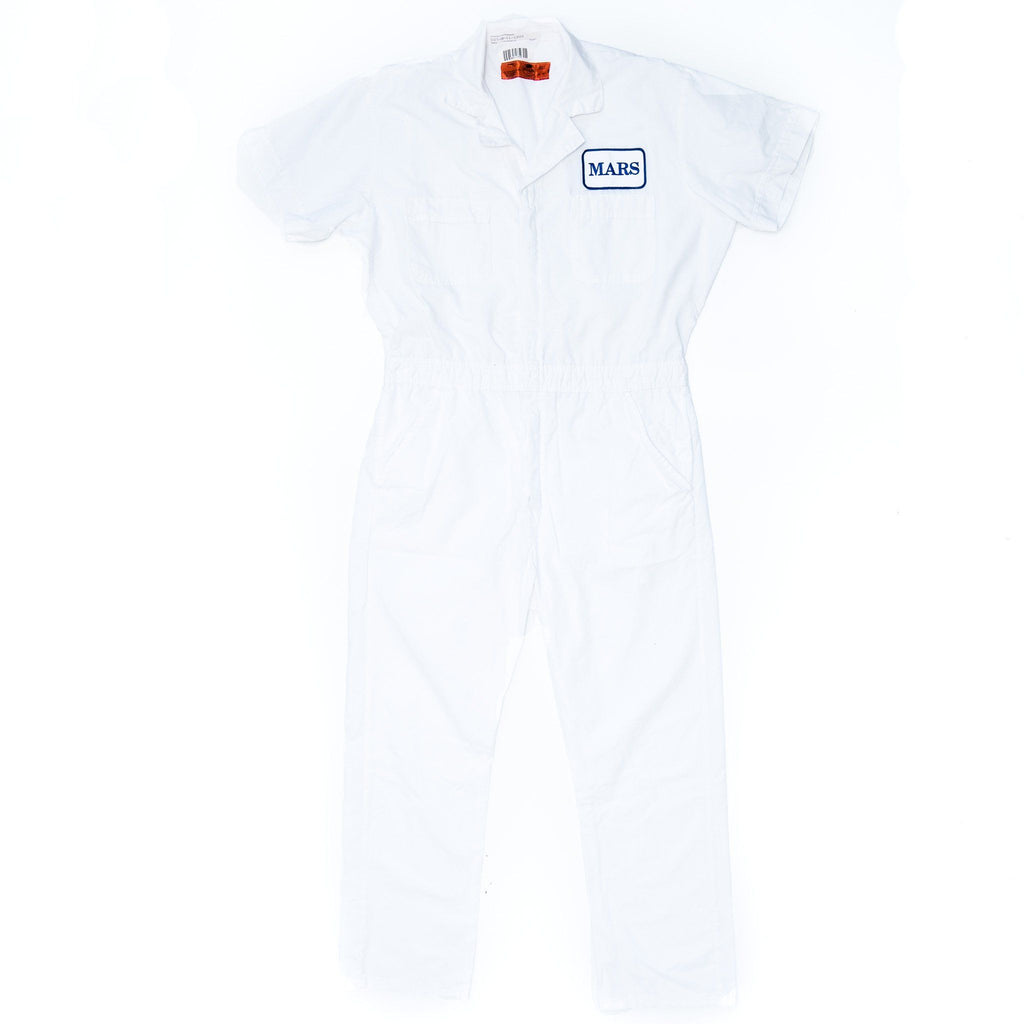 Used Standard White Work Coverall - Short Sleeve