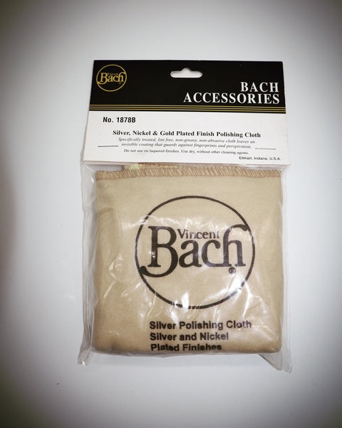 Vincent Bach deluxe silver polishing cloth
