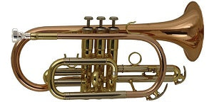 Elkhart Bb Cornet Lacquered 100CR (£15pcm Rental)