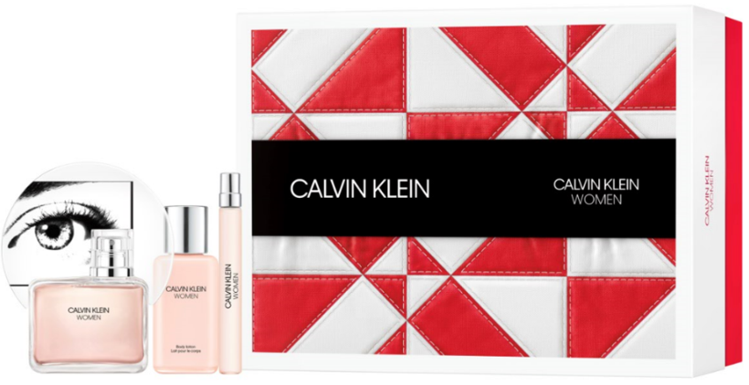 CK WOMAN EDP GIFT SET 3PC GIFT SET
