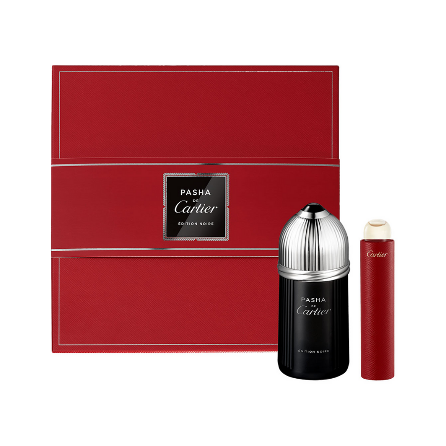 Cartier Pasha Noire EDT Gift Set