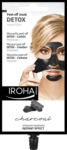 Charcoal Peel-Off Mask- Detox - Black mask