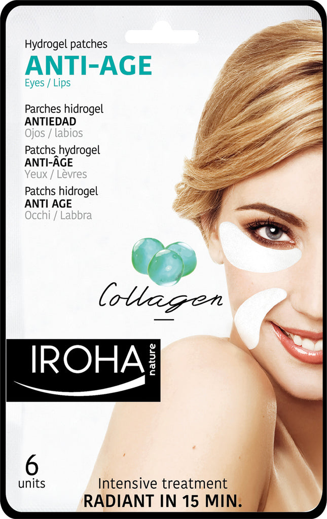 Anti Age Hydrogel Patches - Collagen 6 Units