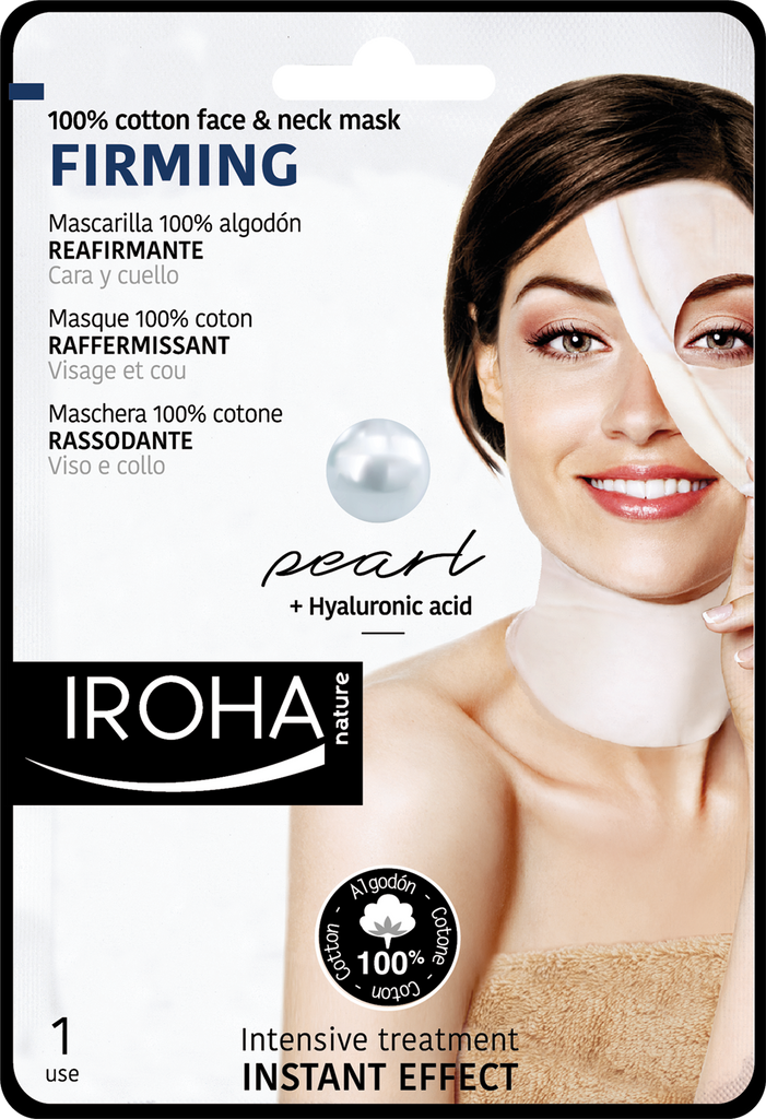FIRMING FACE&NECK Sheet Mask - Pearl