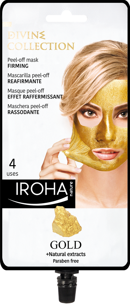 Firming Peel-Off Mask with 24K GOLD