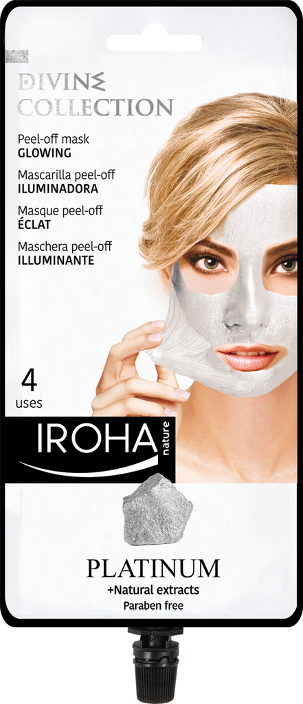 Glowing Peel-Off Mask with PLATINUM