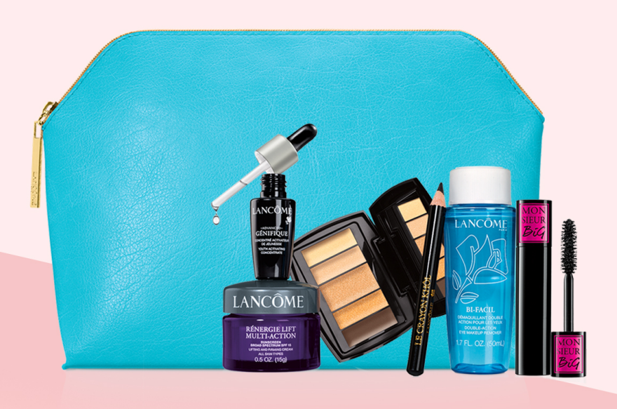Lancome Cosmetic Bag (Blue)