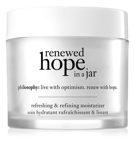 Renewed Hope in a Jar Moisturizer