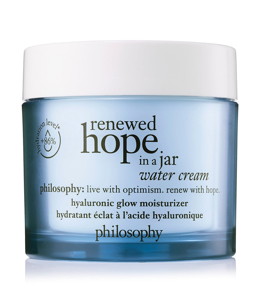 Renewed hope in a jar water cream