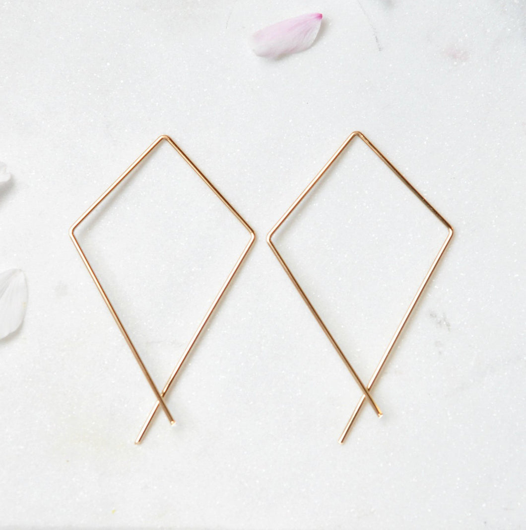 Kite Earrings - Quad Espresso Jewelry