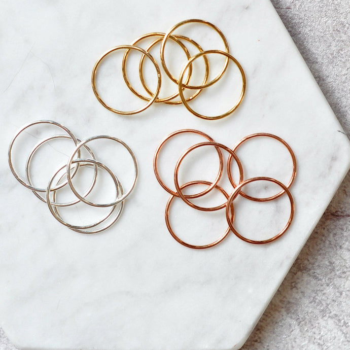 Stacking Ring - Quad Espresso Jewelry