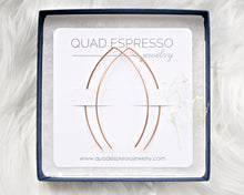Lemon Drop Hoops - Quad Espresso Jewelry