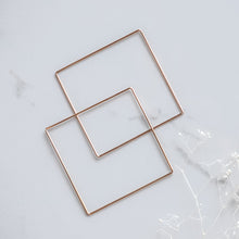 Large Square Sliders - Quad Espresso Jewelry