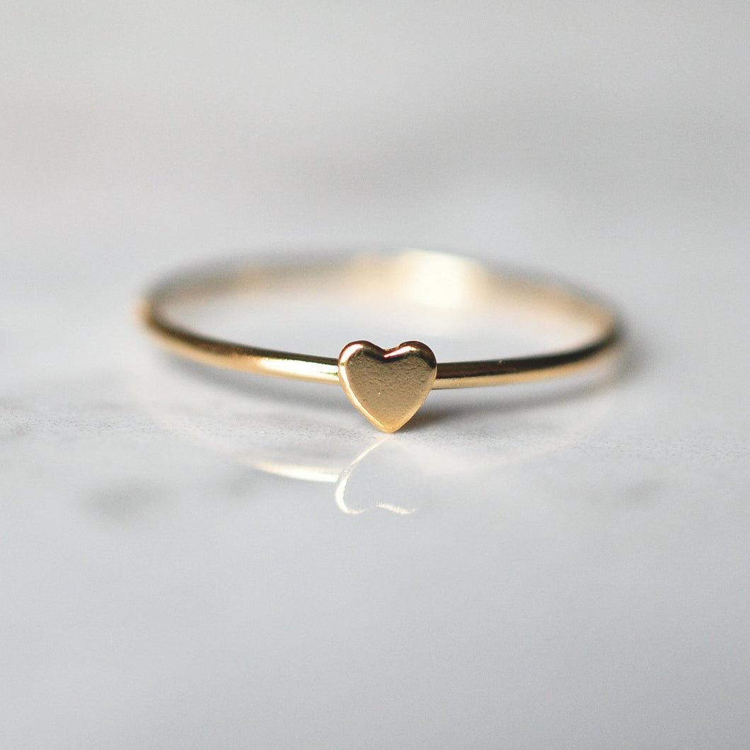 Heart Ring - Quad Espresso Jewelry