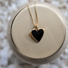 Colored Heart Charm ONLY - No chain