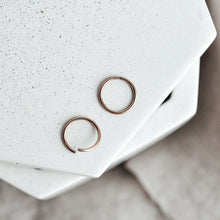 Seamless Hoops - Quad Espresso Jewelry
