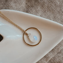 Moonstone Sphere Necklace - Quad Espresso Jewelry