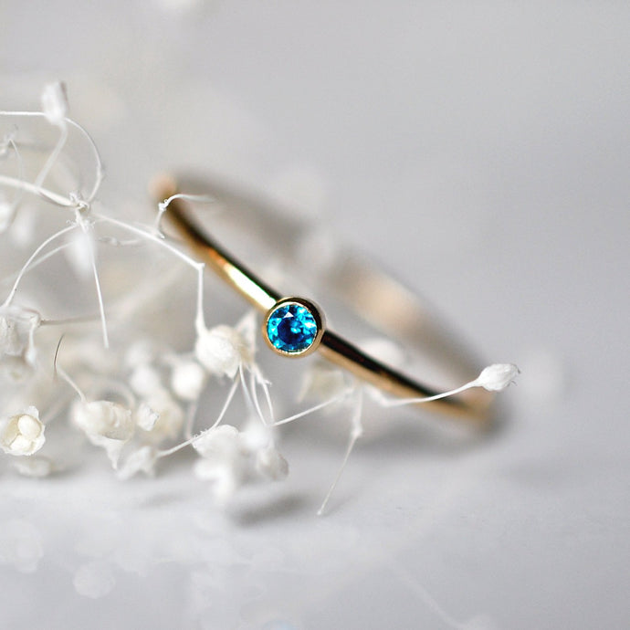 Birthstone Ring - Quad Espresso Jewelry