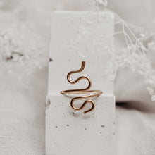 Snake Ring - Quad Espresso Jewelry