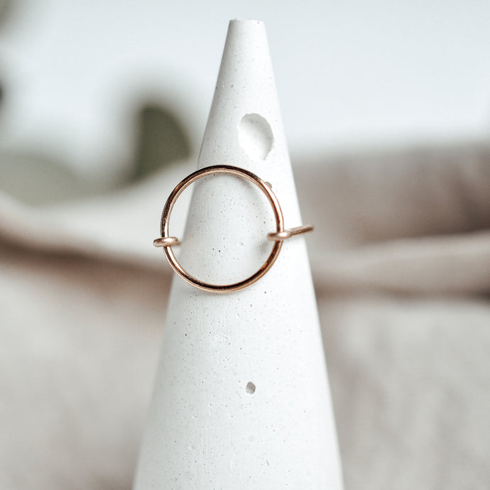 Full Circle Ring - Quad Espresso Jewelry