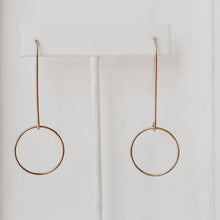 Swinging Free Hoops - Quad Espresso Jewelry